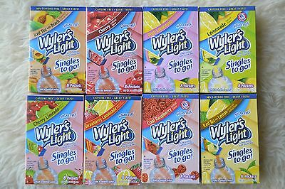 Wyler's Light Singles To Go Sugar Free  Various Flavors     Sugar Free
