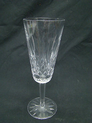 Waterford Lismore Fluted Champagne Glasses 7 5/16in Clear Cut Crystal