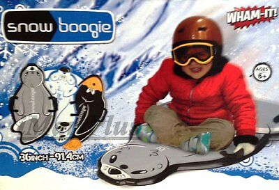Wham-o Snow Boogie Animal Skiing Sled Soft Durable Foam New