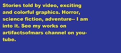 Custom, colorful stories done with video. Second life graphics FYI
