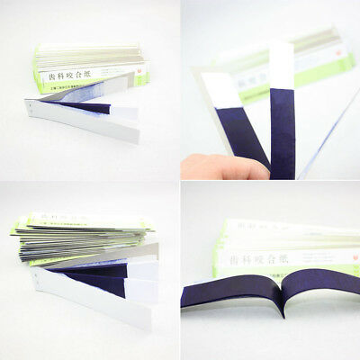 NEW Dental Articulating Paper Blue Thin Strips 10 sheets/book 20 books/Box