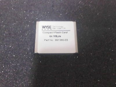 Wyse Technology CompactFlash CF 64MB Memory Card 991360-03