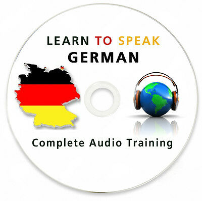 Learn To Speak German - Complete Language Training Course on MP3 DVD