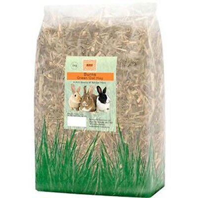 Burns Green Oat Hay Rabbit/Guinea Pig/Chinchilla for Dental & Digestive Health 9