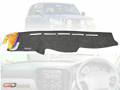 "DASH MAT TOYOTA Landcruiser 100 Series 2/1998-10/2002 ""air-bag"" grey DM744B"