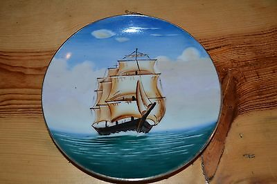 Occupied Japan Ship Plate