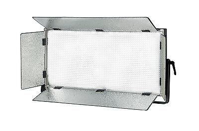 "Illuminatore A 2000 Led ""multiled Panel 120"" A Rete E Batteria Con Paraluce"