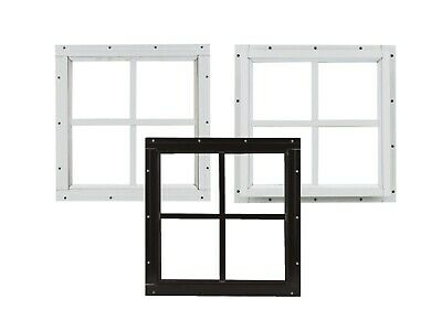 Shed Square Windows Safety Glass Playhouse Chicken Coop Tree House Shed Door