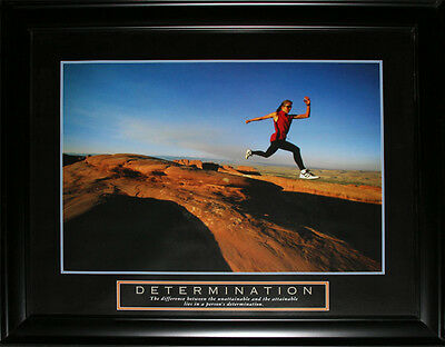 Determination Cross Country Motivational large frame