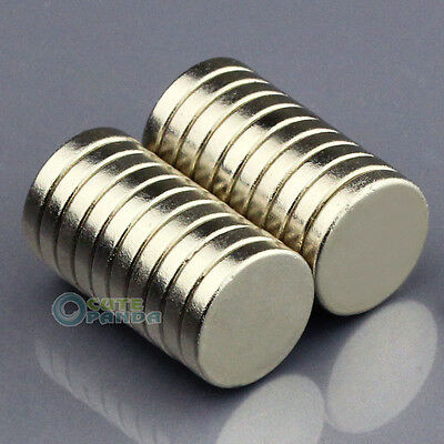 20pcs Strong Disc Disk Round Rare Earth Neodymium Magnets 10mm x 2mm N50 Grade