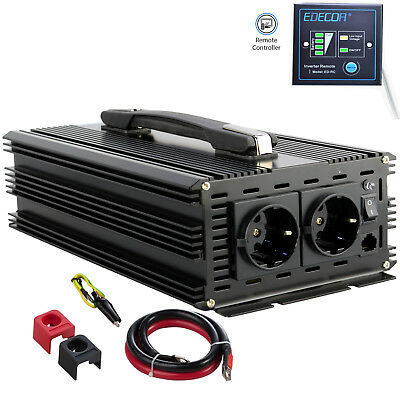 2500W / 5000W DC 12V To AC 240V Pure Sine Wave Power Inverter Converter Remote