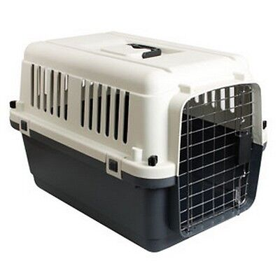 CAGE DE TRANSPORT POUR CHIEN CHAT NOMAD L HOMOLOGUE AVION 81x56x59CM