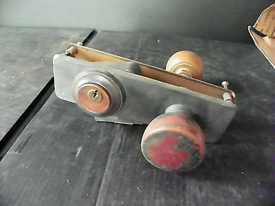 Antique Door Knob Set With Corbin Lock  6275