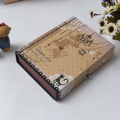 Blank Diaries Journals notebook note book With a lovely color lock diary 0031308