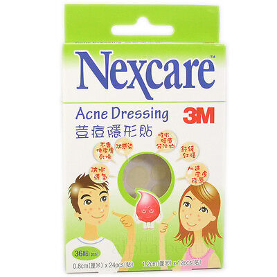 3M NEXCARE Acne Dressing Patch Pimple Stickers (36 pieces) Expiry 2020 or later