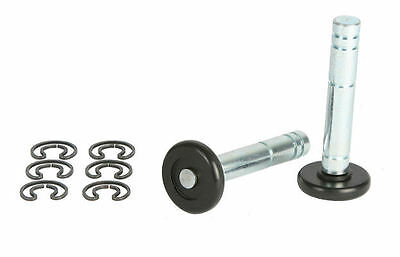 PAIR ANTI DROP ROLLERS Spindles TO SUIT A HENDERSON GARAGE DOOR - PARTS - SPARES