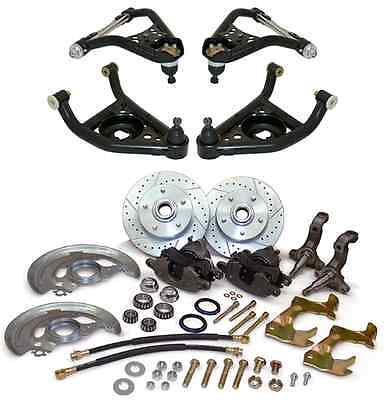 1967 1968 1969 Chevy Camaro Front Disc Brake Conversion Kit Control Arms On Sale