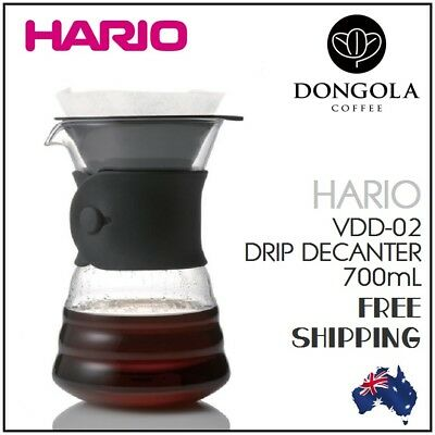 HARIO V60 Drip Decanter Server Pot Coffee Dripper Pour Over Cone Filter Brewer