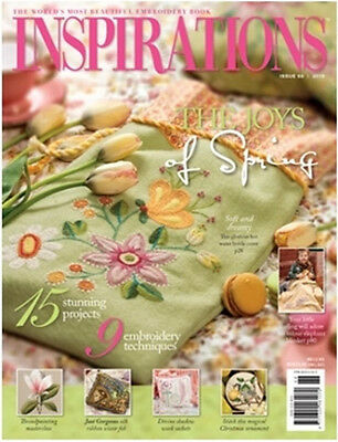 Inspirations Issue #68 Embroidery Sewing Magazine Inc Patterns - New