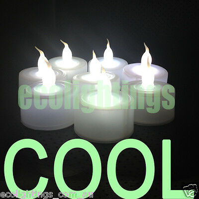12 X Led Tea Light Tealight Candle Candles Flameless Wedding Battery Included
