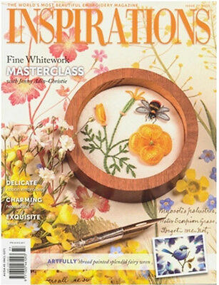 Inspirations Issue #77 Embroidery Sewing Magazine Incl Patterns - New
