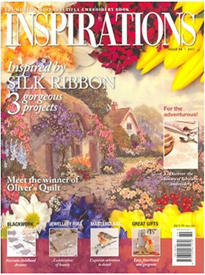 Inspirations Issue #69 Embroidery Sewing Magazine Incl Patterns - New