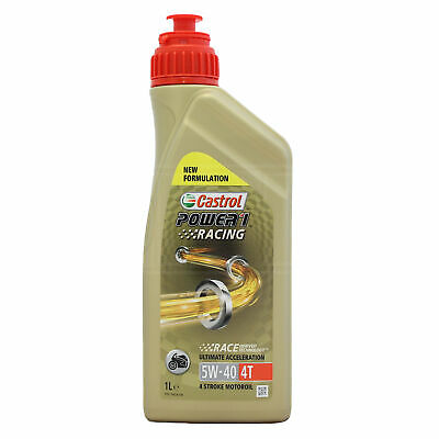 Castrol Power 1 Racing 4T 5w-40 engine oil - 1 Litre