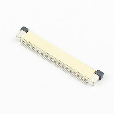 50Pcs FPC FFC 0.5mm Pitch 50 Pin Drawer Type Flat Cable Connector Top Contact
