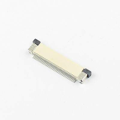 10Pcs FPC FFC 0.5mm Pitch 34 Pin Drawer Type Flat Cable Connector Top Contact