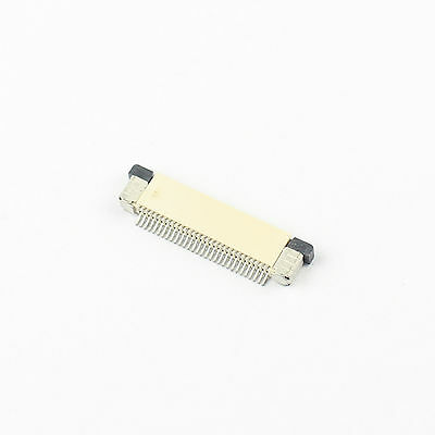 10Pcs FPC FFC 0.5mm Pitch 30 Pin Drawer Type Flat Cable Connector Top Contact
