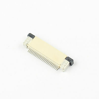 10Pcs FPC FFC 0.5mm Pitch 24 Pin Drawer Type Flat Cable Connector Top Contact
