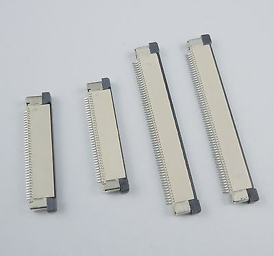 10Pcs FPC FFC 0.5mm Pitch 21 Pin Drawer Type Flat Cable Connector Top Contact