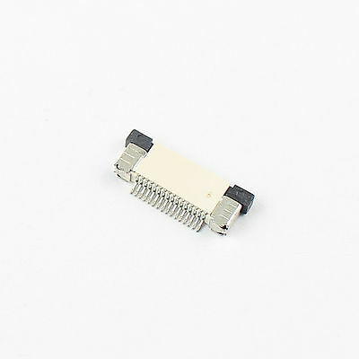 10Pcs FPC FFC 0.5mm Pitch 16 Pin Drawer Type Flat Cable Connector Top Contact