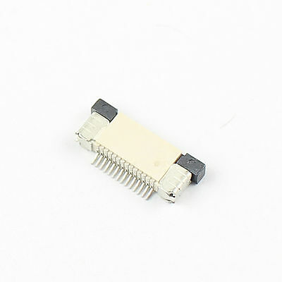 10Pcs FPC FFC 0.5mm Pitch 14 Pin Drawer Type Flat Cable Connector Top Contact