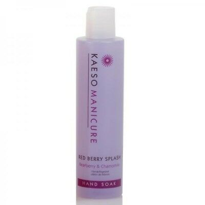 Kaeso Red Berry Splash Manicure Hand Soak Cleanses & Relaxes The Hands