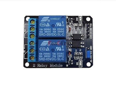 5V 2 Channel Relay Module 2 Kanal Relais Modul 5V With OPTOCOUPLER Protection