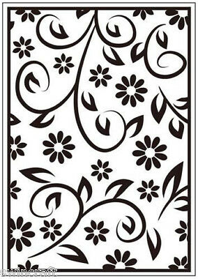 Crafts Too A6 Embossing Folder FLORAL SUMMER CTFD3054