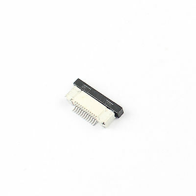 10Pcs FPC FFC 0.5mm Pitch 12Pin Drawer Type Flat Cable Connector Bottom Contact