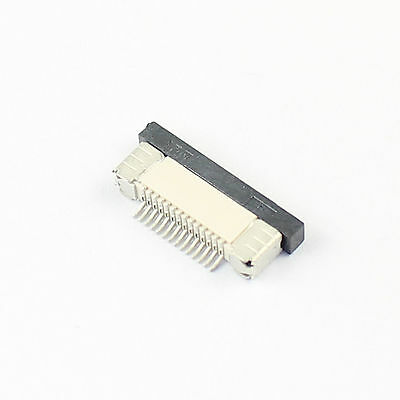 10Pcs FPC FFC 0.5mm Pitch 14 Pin Drawer Type Flat Cable Connector Bottom Contact
