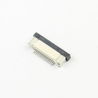 10Pcs FPC FFC 0.5mm Pitch 16Pin Drawer Type Ribbon Flat Connector Bottom Contact