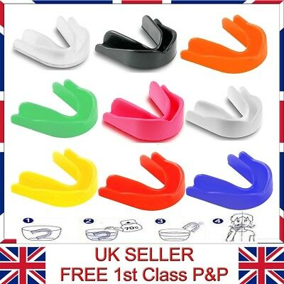 Adult & Junior Gum Shield Mouth Guard Protect for Martial Arts,Boxing,Hockey etc