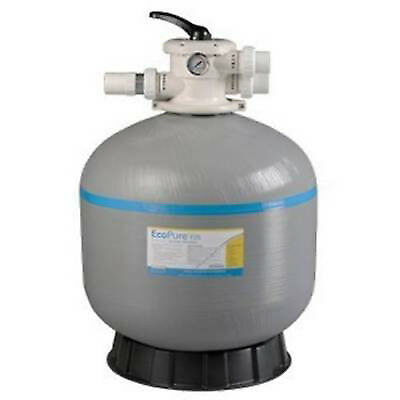 "SWIMMING POOL SAND FILTER-21 INCH-21""-FIBERGLASS-FIBREGLASS-40mm VALVE"