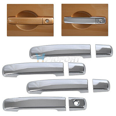 New Chrome Door Handle Cover Trim for Nissan Qashqai 2007 2008 2009 2010 2011