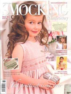 Australian Smocking & Embroidery Magazine Issue #89 Sewing Inc Patterns