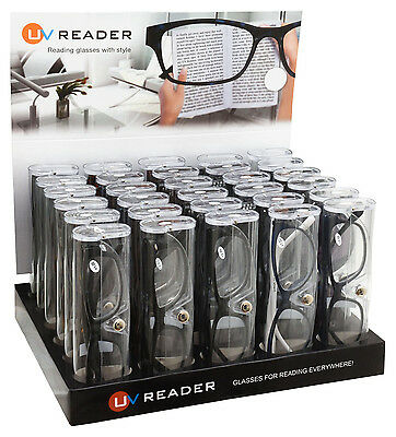 Reading Glasses Wholesale 30 Piece Trade Pack B By UV Reader UVR30TPKB