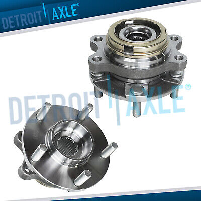 Pair (2) NEW Front Driver & Passenger Wheel Hub & Bearing Ass'y for Murano Quest