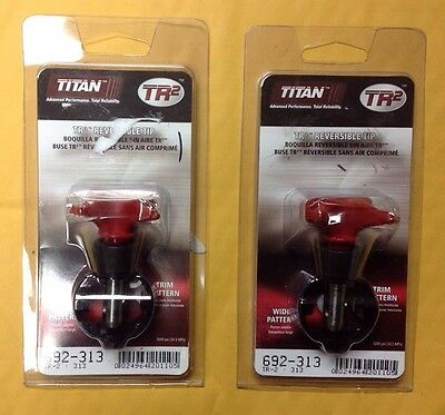Titan 692-313 TR2 Reversible Tip Lot of 2