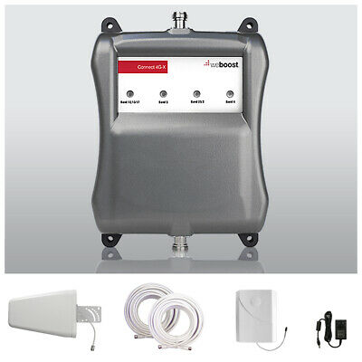 Wilson 461104 AG Pro 4G LTE SOHO Cell Phone Signal Booster Repeater & Antenna