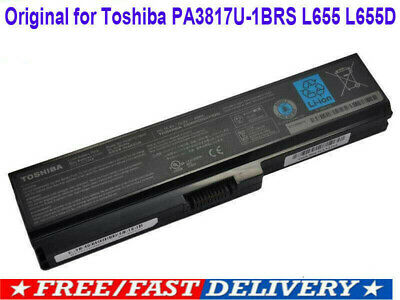 New PA3817U-1BRS C655 Genuine Original Toshiba Satellite L655 Battery PC Laptop