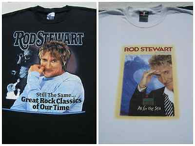 LOT of 2 different ROD STEWART size XL T-SHIRTS